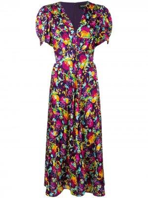 Платье Lea Saloni. Цвет: фиолетовый