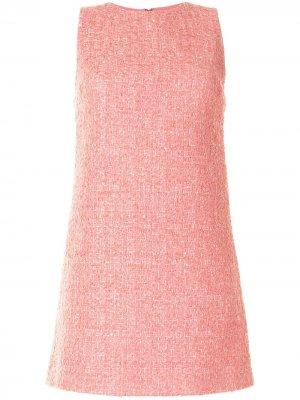 Coley crew-neck mini dress Alice+Olivia. Цвет: розовый