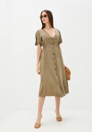 Платье Sweewe. Цвет: хаки