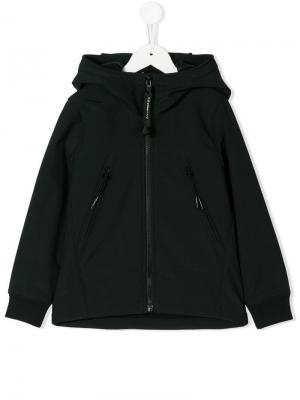 Goggle hood hoodie Cp Company Kids. Цвет: черный