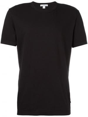 Базовая футболка James Perse. Цвет: черный