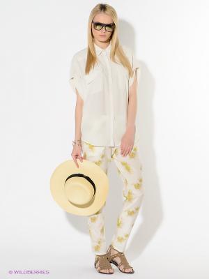Брюки American Outfitters. Цвет: молочный, желтый, темно-зеленый