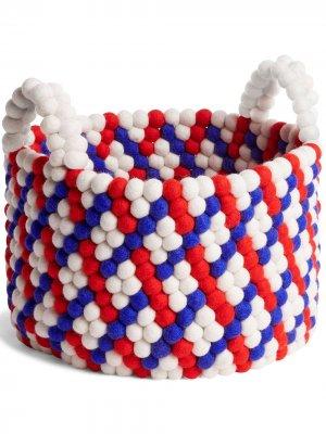 Bead Basket, red Hay. Цвет: красный