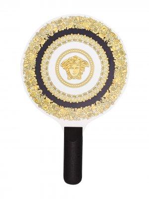 Набор для пляжного тенниса Crete de Fleur Versace. Цвет: черный