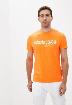 Олимпийка Roberto Cavalli Sport. Цвет: белый