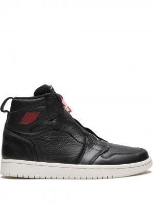 Кроссовки Air  1 Zip Prem Jordan. Цвет: черный