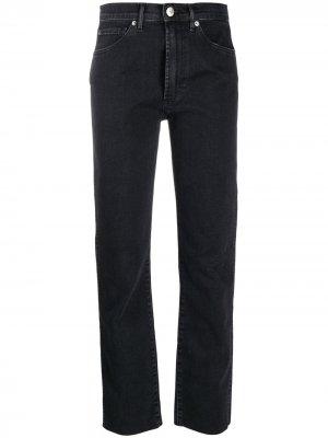 Узкие джинсы средней посадки 3x1. Цвет: черный
