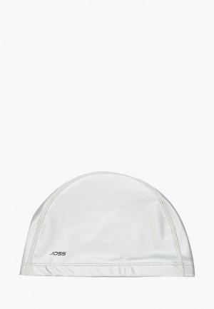 Шапочка для плавания Joss. Цвет: серебряный