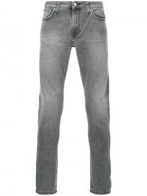 Джинсы Skinny Lin Nudie Jeans Co. Цвет: серый