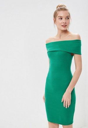 Платье City Goddess. Цвет: зеленый