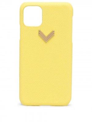 Чехол для iPhone 11 Pro Max из коллаборации с Velante Manokhi. Цвет: желтый