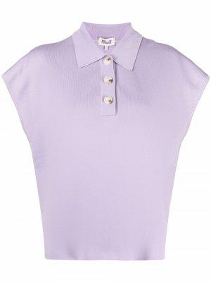 Рубашка поло в рубчик Baum Und Pferdgarten. Цвет: фиолетовый