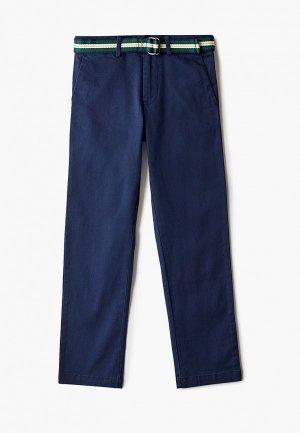 Брюки Polo Ralph Lauren. Цвет: синий