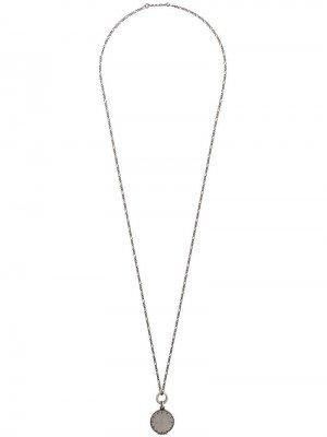 Pendent necklace Werkstatt:München. Цвет: серебристый