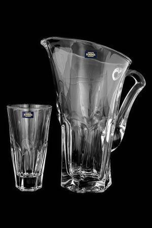 Набор для виски 1,5 л, 300мл. 6 пер. Crystalite Bohemia. Цвет: прозрачный