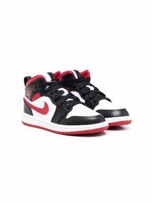 Кроссовки Jordan 1 Nike Kids. Цвет: черный