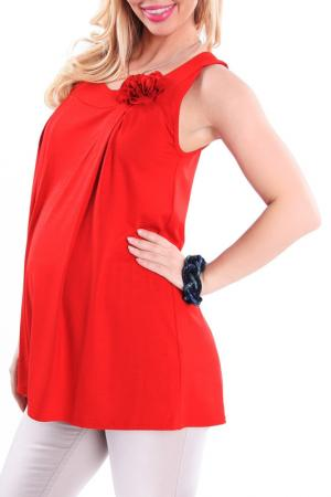 Блуза Nuova Vita. Цвет: красный