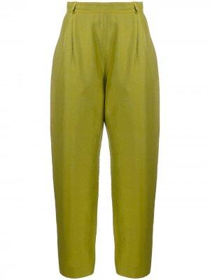 Укороченные брюки 1980-х годов Yves Saint Laurent Pre-Owned. Цвет: зеленый
