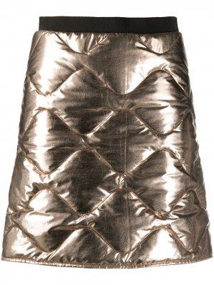 Стеганая юбка мини Dorothee Schumacher. Цвет: 795