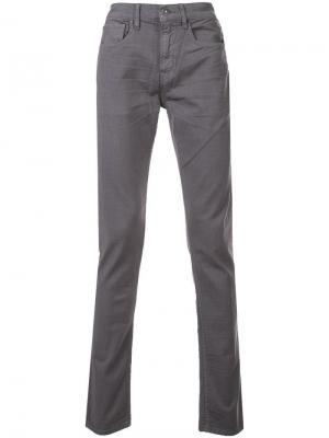 Axl skinny reverse twill jeans Hudson. Цвет: серый