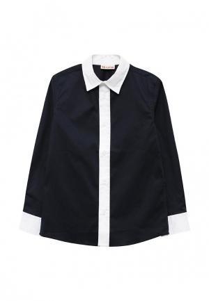 Рубашка Brums. Цвет: синий