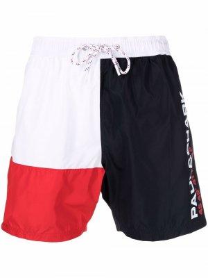 Плавки-шорты с логотипом Paul & Shark. Цвет: белый