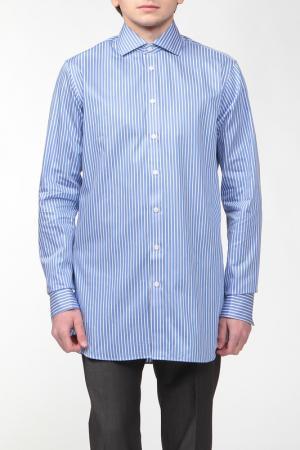 Верхняя сорочка, запонки Marks & Spencer. Цвет: небесный