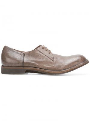 Повседневные ботинки-дерби Pantanetti. Цвет: коричневый