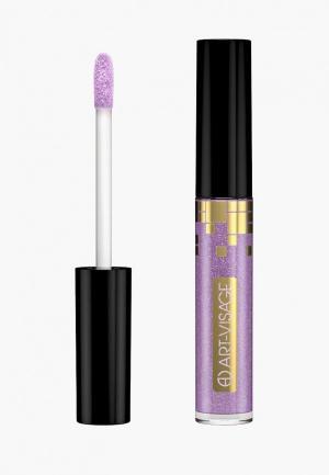 Блеск для губ Art-Visage. Цвет: фиолетовый