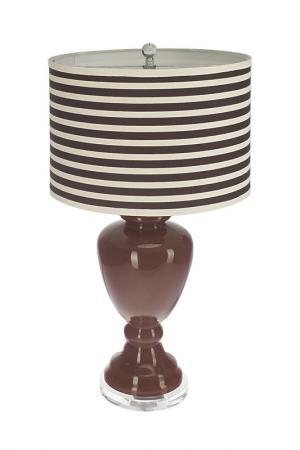 Настольная лампа Creative. Цвет: коричневый