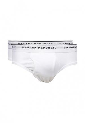 Комплект трусов 2 шт. Banana Republic. Цвет: белый