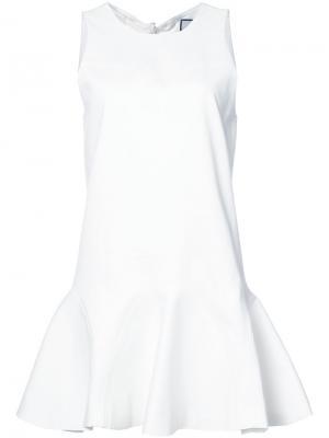 Платье Alexia Alexis. Цвет: белый