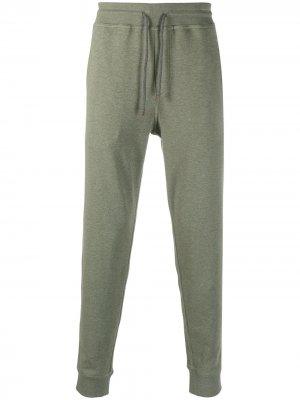 Спортивные брюки с кулиской Brunello Cucinelli. Цвет: зеленый