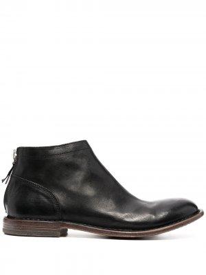 Ботинки на молнии MOMA. Цвет: черный