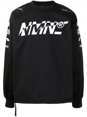 Пуловер Racing Tech из коллаборации с Nemen Puma. Цвет: черный