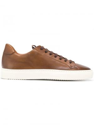 Lace-up sneakers Doucal's. Цвет: коричневый