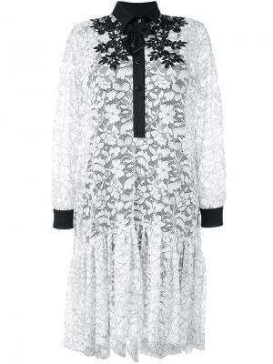 Платье-рубашка Antonio Marras. Цвет: белый