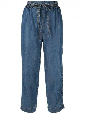 Пляжные брюки Studland Karen Walker. Цвет: синий