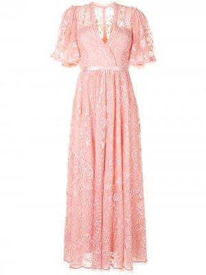 Платье Trudy Belle Needle & Thread. Цвет: розовый