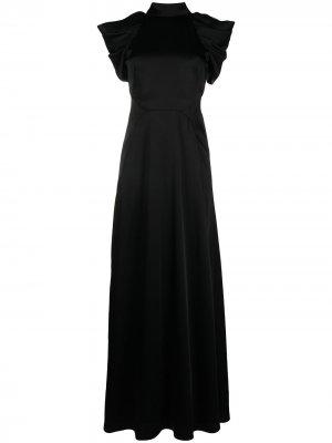 Платье Anita Temperley London. Цвет: черный