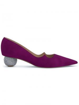Туфли-лодочки Ankara Paul Andrew. Цвет: фиолетовый