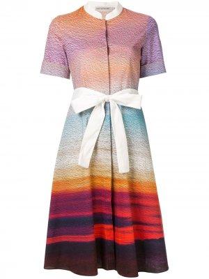 Платье Cecilia Mary Katrantzou. Цвет: разноцветный
