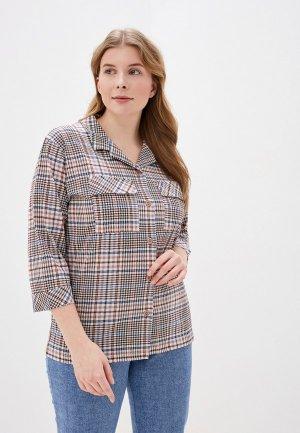 Рубашка домашняя Лори. Цвет: разноцветный