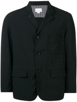 Buttoned up jacket Nanamica. Цвет: черный