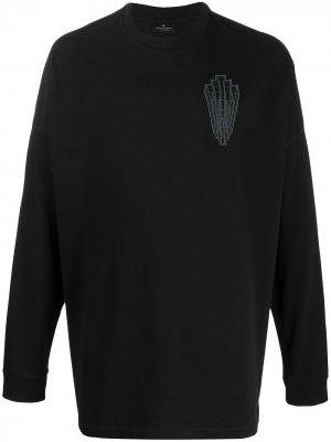 Толстовка с логотипом Marcelo Burlon County of Milan. Цвет: черный