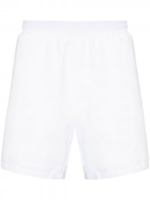 Плавки-шорты Dolphin с логотипом BOSS. Цвет: белый