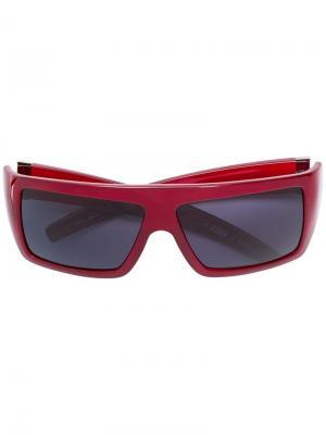 Солнцезащитные очки с логотипом Gianfranco Ferré Pre-Owned. Цвет: красный