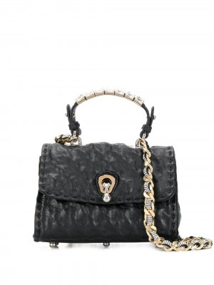 Мини-сумка Faubourg Ermanno Scervino. Цвет: черный