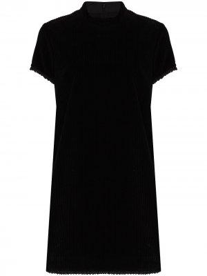 Short-sleeve corduroy minidress Marc Jacobs. Цвет: черный