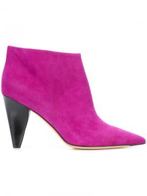 Ботинки по щиколотку Derek Lam. Цвет: розовый и фиолетовый